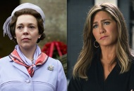 Olivia Colman, The Crown; Jennifer Aniston, The Morning Show