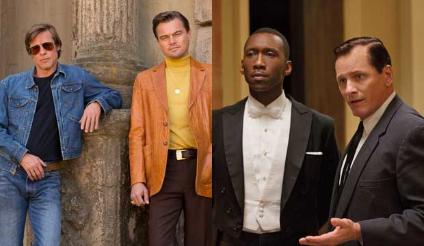 Once Upon a Time in Hollywood and Green Book