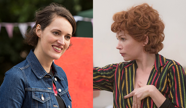 Phoebe Waller-Bridge and Michelle Williams just matched Sarah Paulson's TV grand slam sweep with their SAG Awards wins
