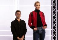Christian Siriano and Karlie Kloss on Project Runway in There is Only One You