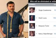 Project Runway Sergio Guadarrama elimination odds