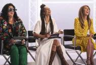 Ashley Longshore, Elaine Welteroth, Nina Garcia on Project Runway
