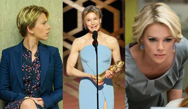 Scarlett Johansson, Renee Zellweger, Charlize Theron