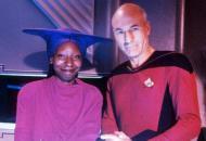Film and Television Star Trek: The Next Generation , Whoopi Goldberg, Patrick Stewart 1980s