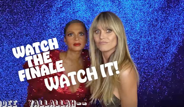 Watch Heidi Klum and Alesha Dixon's hilarious rap/yodel jam session about the 'AGT: The Champions' finale [VIDEO]