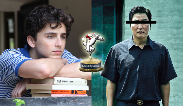 Gold Derby Film Award winners Call Me by Your Name and Parasite