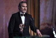 Exclusive - 73rd British Academy Film Awards, Ceremony, Royal Albert Hall, London, UK - 02 Feb 2020 Exclusive - Joaquin Phoenix - Leading Actor - Joker