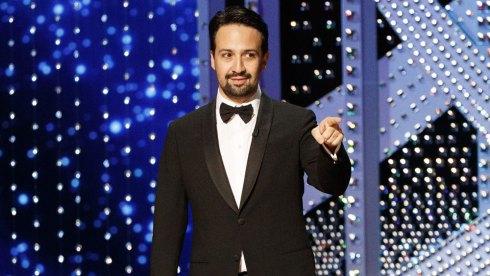 Lin-Manuel Miranda at Oscars 2020