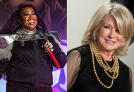 Missy Elliott and Martha Stewart