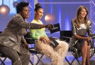 Leslie Jones on Project Runway Live and Let Tie Dye