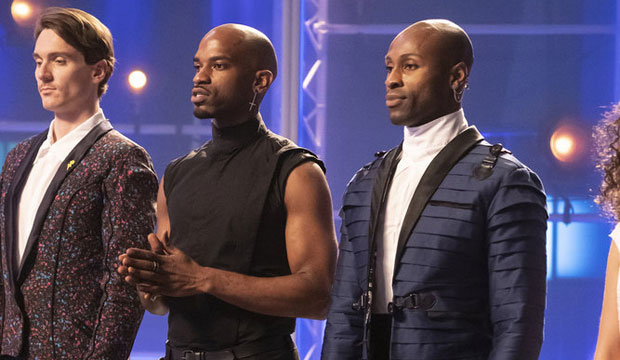 Marquise Foster and Taurean on Project Runway