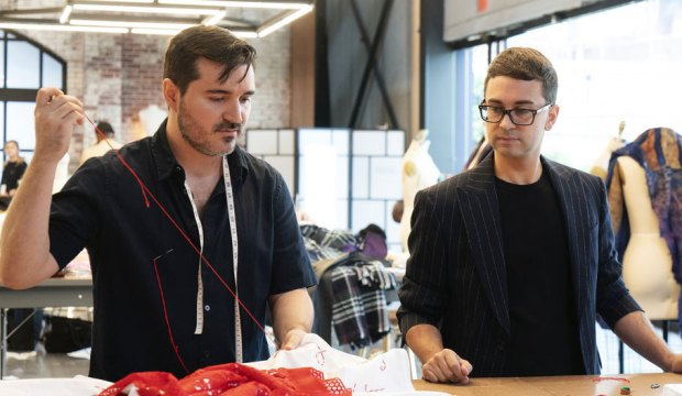 Sergio Guadarrama and Christian Siriano on Project Runway
