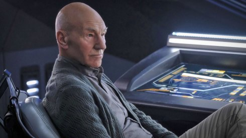 """""""The End Is The Beginning"""" -- Episode #103 -- Pictured: Patrick Stewart as Picard of the the CBS All Access series STAR TREK: PICARD. Photo Cr: Trae Patton/CBS ©2019 CBS Interactive, Inc. All Rights Reserved."""