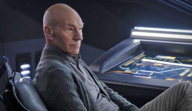 """The End Is The Beginning"" -- Episode #103 -- Pictured: Patrick Stewart as Picard of the the CBS All Access series STAR TREK: PICARD. Photo Cr: Trae Patton/CBS ©2019 CBS Interactive, Inc. All Rights Reserved."
