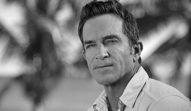 survivor jeff probst black and white