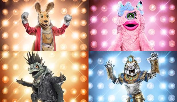 the-masked-singer-kangaroo-miss-monster-turtle-white-tiger