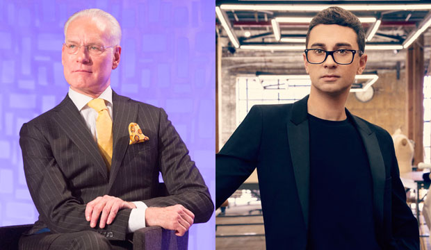 Tim Gunn and Christian Siriano on Project Runway
