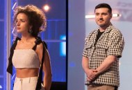 Victoria Cocieru and Sergio Guadarrama on Project Runway