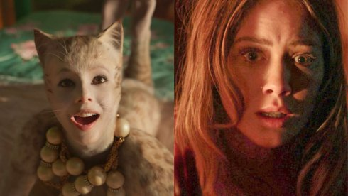 Francesca Hayward in Cats, Hilary Duff in The Haunting of Sharon Tate