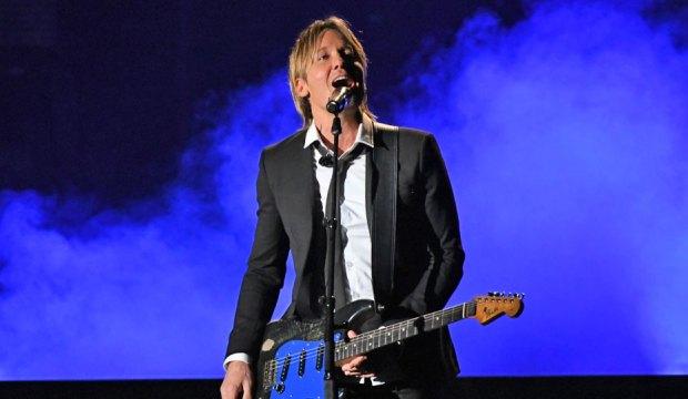 Keith Urban at the ACM Awards