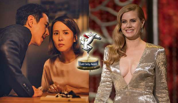 'Parasite' sweeps Gold Derby Film Decade Awards (2010-2019), but 15 other films honored; Amy Adams triumphs as top performer