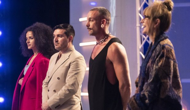 Project Runway final four Victoria, Sergio, Geoffrey and Nancy