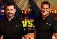 Joe Sasto and Angelo Sosa in Top Chef Last Chance Kitchen