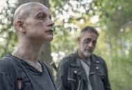 Jeffrey Dean Morgan as Negan, Samantha Morton as Alpha - The Walking Dead _ Season 10, Episode 11 - Photo Credit: Jace Downs/AMC