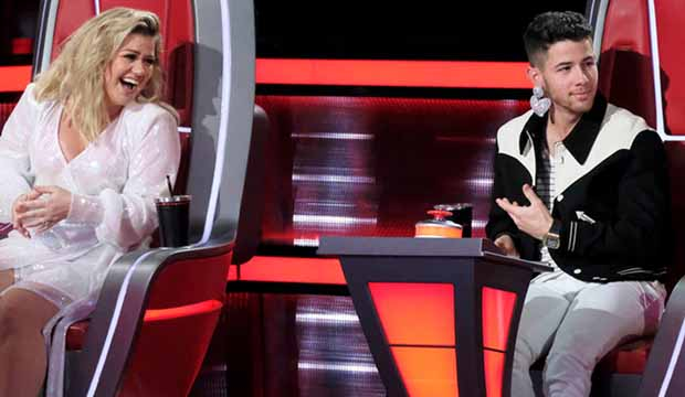 The-Voice-Kelly-Clarkson-Nick-Jonas