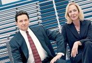 Hugh Jackman and Allison Janney in Bad Education