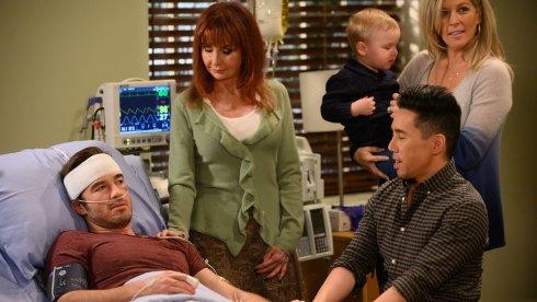 Ryan Carnes and Jackie Zeman on General Hospital