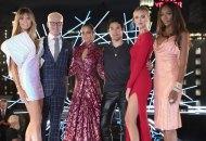 Making the Cut hosts and judges Heidi Klum, Tim Gunn, Nicole Richie, Joseph Altuzarra Chiara Ferragni and Naomi Campbell