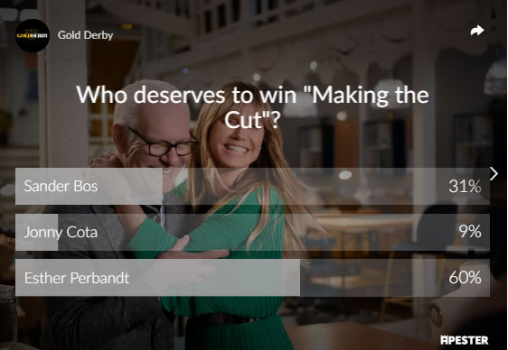 Making the Cut poll results