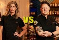 Jennifer Carroll vs. Lisa Fernandes on Top Chef Last Chance Kitchen