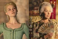 Elle Fanning and Helen Mirren play Catherine the Great