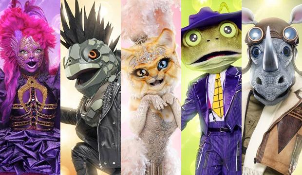 masked-singer-night-angel-turtle-kitty-frog-rhino