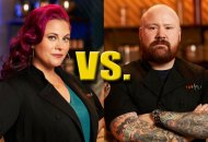 Karen Akunowicz and Kevin Gillespie in Top Chef Last Chance Kitchen