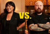 Lee Anne Wong and Kevin Gillespie in Top Chef Last Chance Kitchen