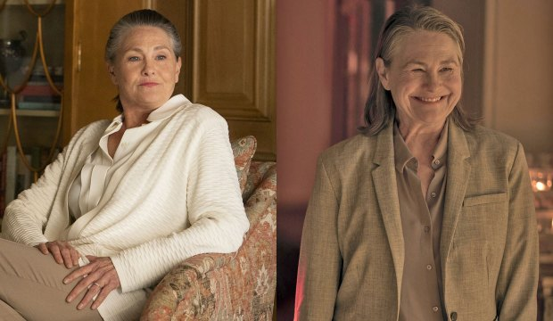 Cherry Jones in Succession and Handmaid's Tale