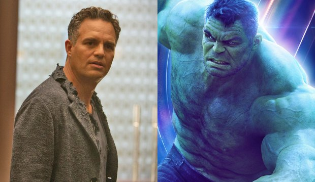 Mark Ruffalo as The Hulk in Avengers