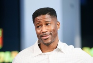 Mandatory Credit: Photo by Danny Moloshok/AP/Shutterstock (9270969fi) Former NFL player and NFL Network's Nate Burleson is interviewed during a media availability on set at the NFL Network studios, in Culver City, California NFL Network, Culver City, USA - 9 Sep 2015
