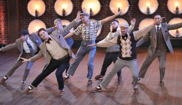"WORLD OF DANCE -- ""Qualifiers"" Episode 403 -- Pictured: Avant Garde -- (Photo by: Jordin Althaus/NBC)"