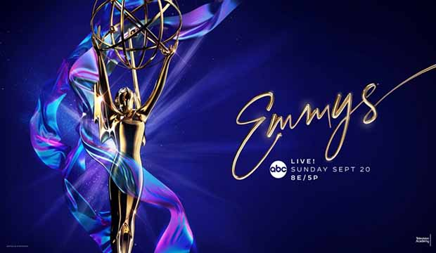 Emmys 2020 Logo trophy statuette atmosphere
