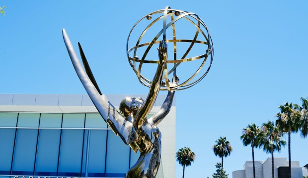 Emmy statue atmosphere