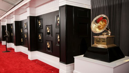 Grammy Awards atmosphere