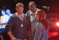 James Badge Dale, Dohn Norwood and Monica Raymund in Hightown