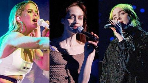 Maren Morris, Fiona Apple and Billie Eilish