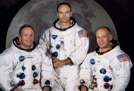 Neil Armstrong, Michael Collins and Buzz Aldrin