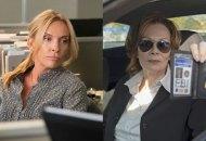 Toni Collette in Watchmen and Jean Smart in Watchmen
