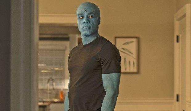 Yahya Abdul Mateen II as Doctor Manhattan in Watchmen